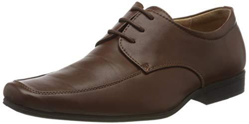 Paisley of London Elegante Schuhe, Jungen, für Hochzeit, Dunkelbraun, 33 EU / 1 UK