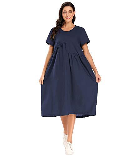 Vestido Talla Grande marca MEOMUA