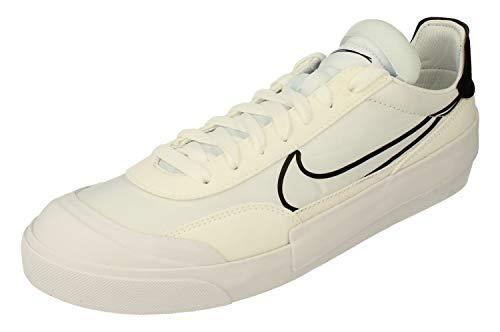 Nike Drop-Type HBR, Zapatos de Tenis para Hombre, White Black, 44 EU