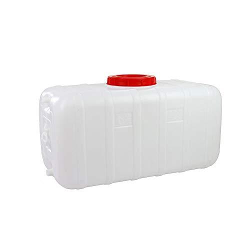 Unbekannt Q-L Regenwasser-Auffangbehälter im Freien Haushaltswasserbehälter Bulk horizontal rechteckiger Tank (Size : 80L)