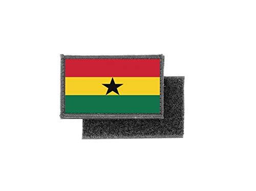 Aufnäher patch aufbügler gedruckt flagge fahne ghana