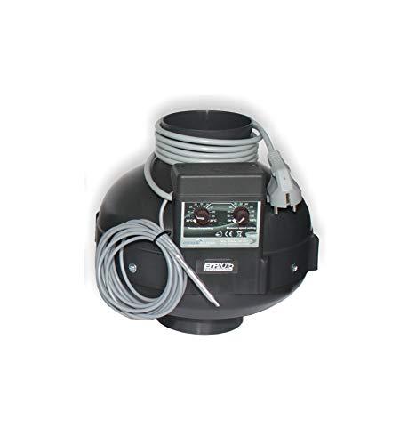 Prima Klima - Extractor (125 mm de diámetro, 400 m3/h)