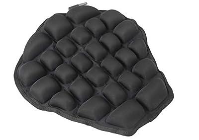 Haerniubi Motorcycle Seat Cushion, Air Fillable Seat Pad, Pressure Relief Motorcycle Cushion for Sport   Cruiser   Touring