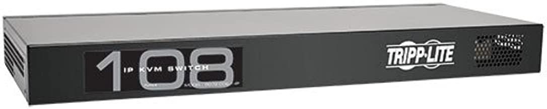TRIPP LITE 8-Port Compact 1+1 User Rackmount Cat5 IP KVM Switch (B072-008-1-IP) - coolthings.us
