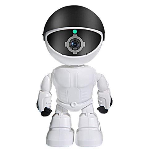 OUYA Robot Cámara Inteligente de Seguimiento automático WiFi inalámbrico Monitor de Video para bebés 1080P Seguridad Sistema Interior Niñera aplicación para teléfono Celular,1080P+32G