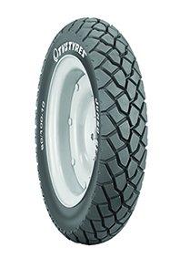 TVS Tyres Jumbo GT 90/100-10 53J Tubeless Scooter Tyre, Black