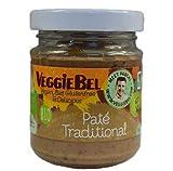 VeggieBel Paté Traditional Orgánica 115g  Orgánico   Vegano   Sin Gluten (Pack de 4)