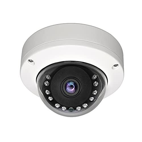 WiTi Cámara domo interior 3000TVL 1080P AHD, cámara CCTV de vigilancia de seguridad de gran angular de 2,8 mm, caja de metal sólido y transmisión coaxial de salida BNC