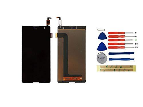 Yixi Pantalla para Wiko Robby Pantall LCD Pantalla Táctil Negro Repuesto de Pantalla Recambio (sin Marco)