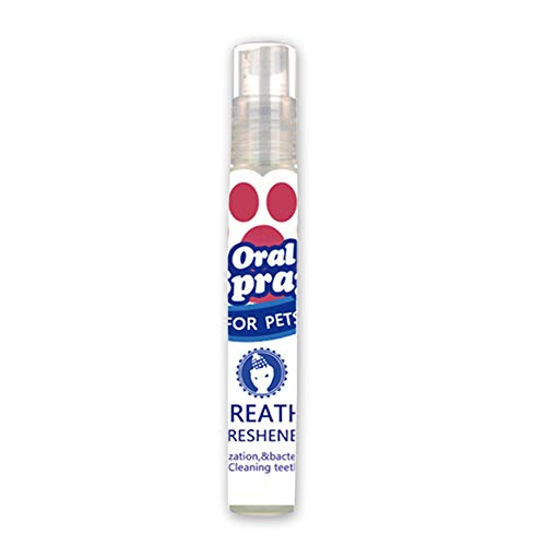 Liamostee huisdier-ademer-mond-mondspray-frisse ademende tandverzorging voor hondenpuppen.