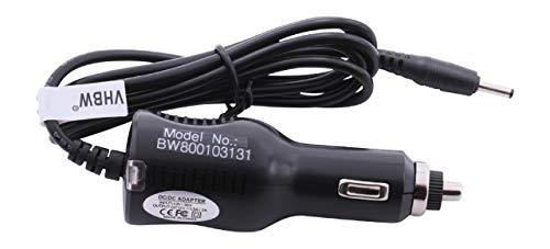 vhbw KFZ-Ladekabel passend für Acer Iconia Tab A100, A101, A200, A210, A211 Laptop, Notebook - Ladegerät 12V, 18W