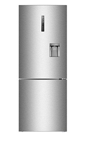 Haier C3FE744CMJW Kühl-Gefrierkombination / A++ / Wasserspender / 190 cm Höhe / 70 cm Breite / 274 L Kühlteil / 136 L Gefrierteil / 321kWh/Jahr / 2 getrennte Kühlkreisläufe