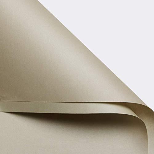 ZXL cadeaupapier, eenkleurig, decoratief materiaal voor bankets, behang, decoratiepapier, handgemaakt papier, dubbel design, 58 x 58 cm (kleur: nr. 5)