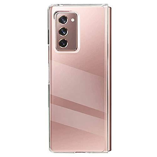 Miimall Carcasa Compatible con Samsung Galaxy Z Fold 2, [Anticaída] [Anti-arañazo] [Funda Protectora de la cámara] Transparente PC Case para Samsung Galaxy Z Fold 2(Carcasa Trasera)