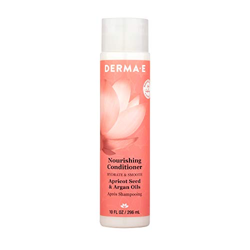 DERMA E Nourishing Shampoo with Apricot & Argan Oil, 10 oz, 7.2 Fl Oz