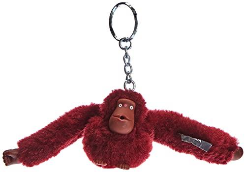 Kipling Monkeyclip S - Bolsos cruzados, talla única, color Rojo, talla One Size