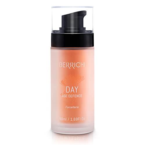 Berrichi Pflegende Tagescreme I Anti-Aging-Creme mit Astaxanthin & Furcellaran für trockene Haut I...