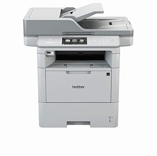 Brother DCP-L6600DW A4 mono Laserdrucker (50 Seiten/Min.,Drucken, scannen, kopieren, 1.200 x 1.200 dpi, Print AirBag für 750.000 Seiten)