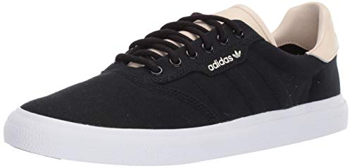 adidas Originals Men's 3MC Regular Fit Lifestyle Skate Inspired Sneakers Shoes, Black/ecru tint/white, 13 M US