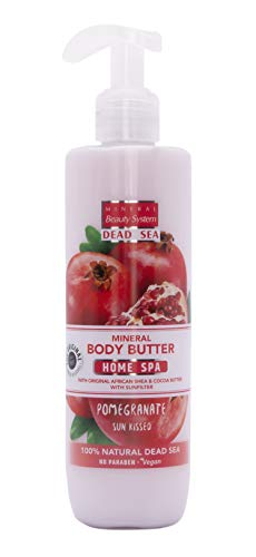 Mineral Beauty System Totes Meer Mineralien SPA-BODY BUTTER CREAM - Pomegranate, 300 ml