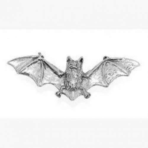Zinn Fledermaus Pin Abzeichen oder Brosche Geschenk für Schal, Krawatte, Hut, Mantel oder Tasche