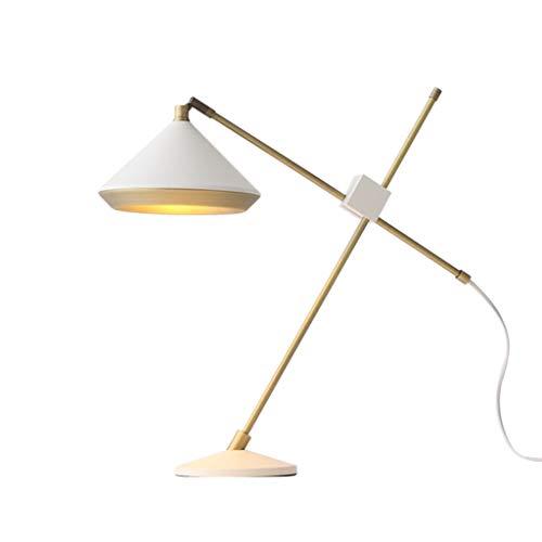 WYZ tafellamp, industriële stijl, lange arm, bureaulamp, ontwerper, werkbank, studio, kantoor, kinderen, leren - E27 * 1 / toetsschakelaar