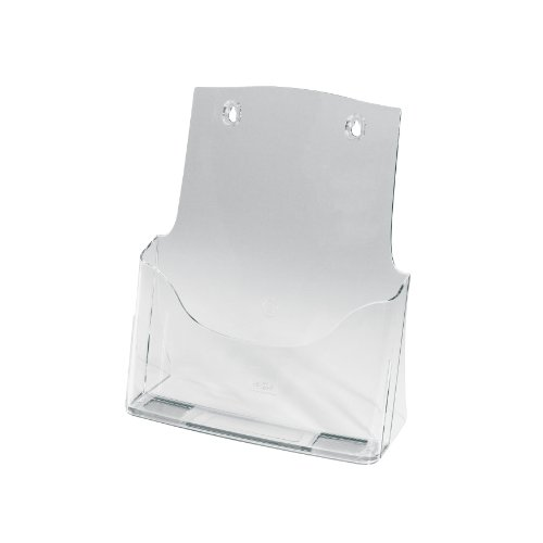 Sigel LH110 - Portafolletos de pared, transparente, 1 unidad