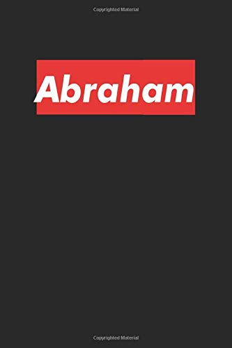 Abraham: Notebook Gift for Abraham Red Box, 120 Pages, 6 x 9 inches, Abraham Men Gifts journal, Father's Day Gift , Gift Idea for Abraham