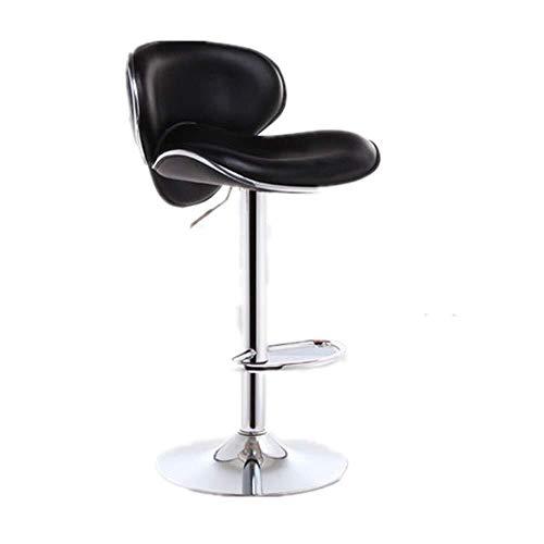 LJBXDCZ NJ barkruk-barstoel, moderne minimalistische roestvrij stalen staafstoel, Nordic-Art-360 graden draaibare bar stoel, voor restaurant, café, avondeten, movable, in hoogte verstelbaar, bureaustoel, hoge kruk 3.9