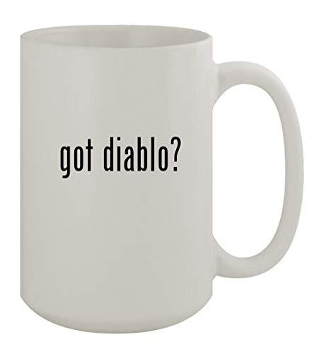 got diablo? - 15oz Ceramic White Coffee Mug, White