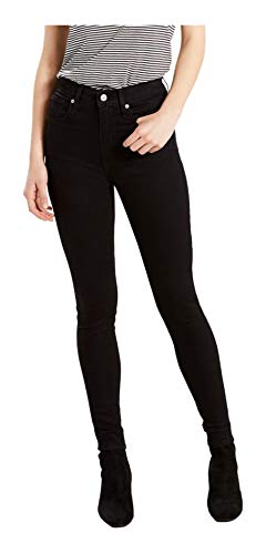 Levi's Women's Mile High Super Skinny Jeans, New Moon, 28 (US 6) R
