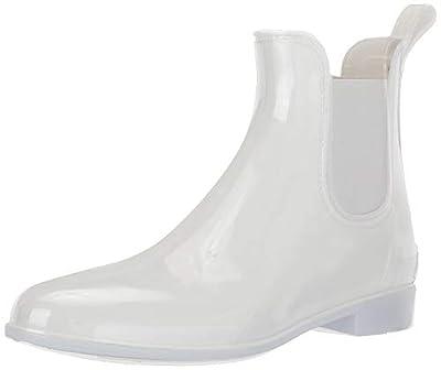 Sam Edelman Women's Tinsley Rain Boot, White, 8 Medium US