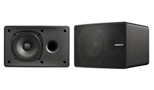 ONKYO D-PS100 スピーカーシステム(2台1組) ブラック D-PS100(B)