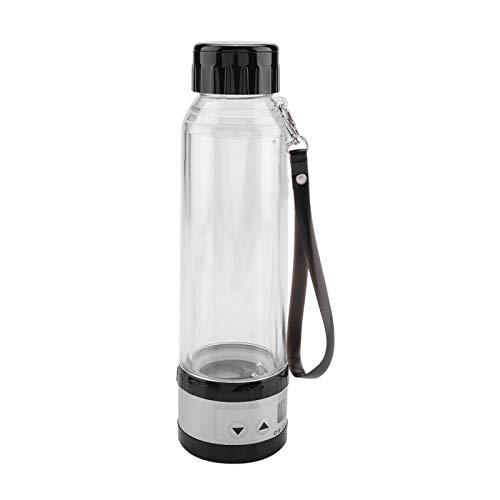 Gmkjh Hervidor eléctrico para Coche, hervidor eléctrico de Viaje, hervidor eléctrico para Coche de 12 V/24 V 75 W, 280 ml, Botella de calefacción para Taza de té de Viaje(Negro)