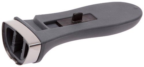 WMF Perfect Plus onderdelen steelgreep, voor snelkookpan 3,0-8,5 l, snelpan 22 cm, kunststof, zwart
