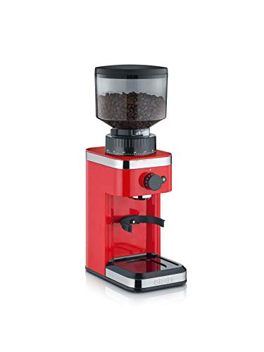 Graef CM503EU Kaffeemühle, 135, rot