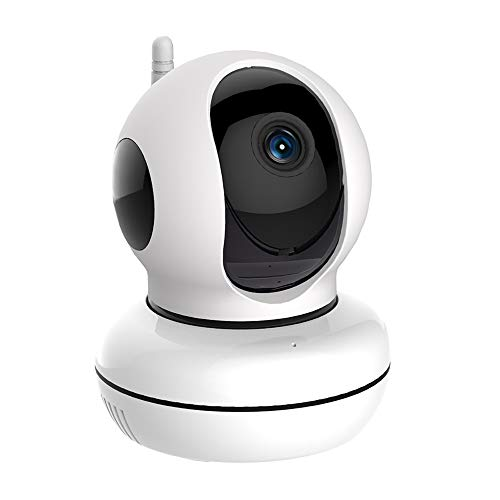Skylink WC-400PH Wireless IP Indoor Pan & Tilt HD Camera for SkylinkNet Connected Home Security Alarm & Home Automation System, IOS Apple and Android Smartphone App Compatible with No Monthly Fees - Surveillance, Microphone, Speaker, Interactive, White
