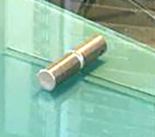 Varias Medidas 140 ancho x 80 altura 【HIGIENE y DESINFECCI/ÓN】 Mampara Pantalla PROTECCION Mostrador CRISTAL de SEGURIDAD Vidrio templado 6 mm ventana 50x20