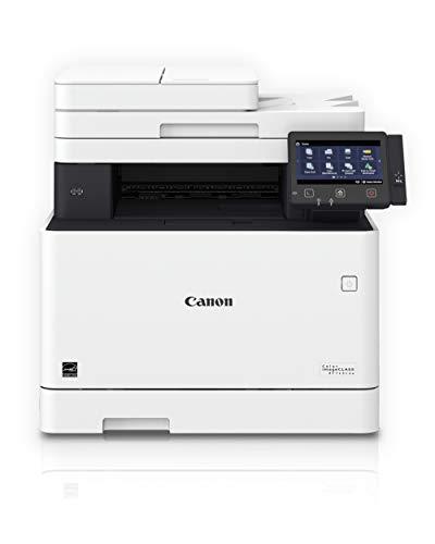 Canon Color imageCLASS MF743Cdw - All in One, Wireless, Mobile Ready, Duplex Laser Printer, White, Mid Size