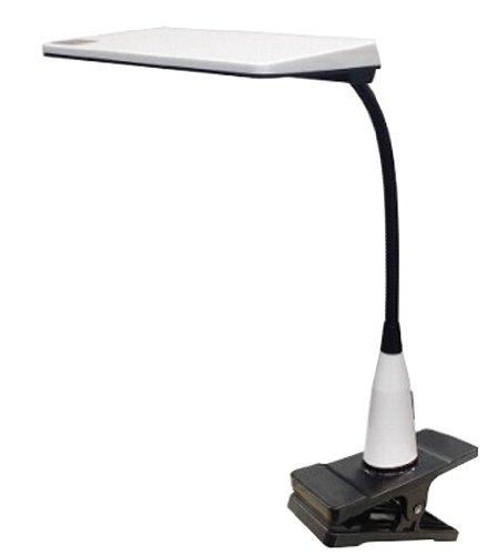 興和 【LUPINUS】 「多重影ができにくい」 小型LEDクリップライト ホワイト EK214-WH2