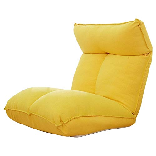 Floor chair Meditation Chair Removable and Washable Lazy Lounge Sofa with Backrest...