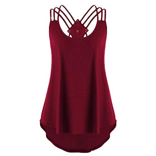 Zomer eenkleurig vrouwen blouse shirt Camis Pullis bovenstuk losse lijfje dames effen chiffon tank tops Plus maat S-6XL