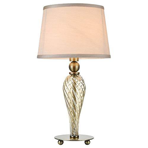 Tischleuchte Tischleuchte aus in Bronze MURANO E14 Metall Klassisch Rustikale Tischlampe Innenleuchte Wohnzimmer | 1-flammig