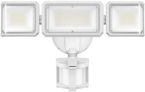 LEPOWER 42W LED Security Lights Motion Sensor Outdoor Light 4200LM Dusk to Dawn Flood Light product image