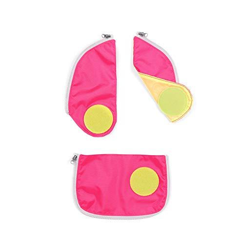 ergobag cubo/cubo Light Sicherheitsset mit Reißverschluss, Pink
