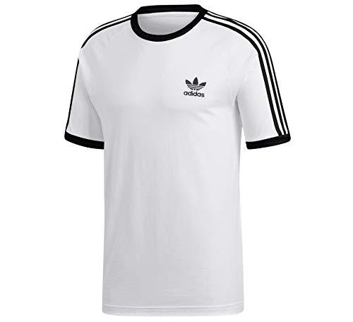 Adidas 3 Stripes - Camiseta blanco L