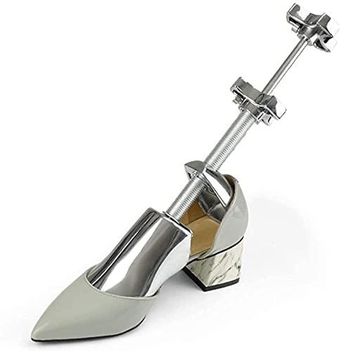 MWKL Alfombrilla de baño Hombres y Mujeres, zapateros de Metal de aleación de Aluminio - Cubierta de Zapatos con Zapatos de deformación Antiarrugas - Universal Izquierda y Derecha