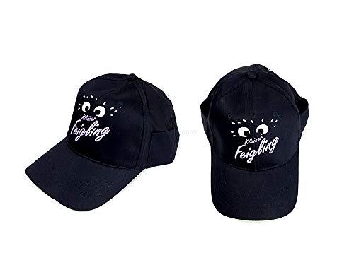 Mixcompany Kleiner Feigling Cap - Kappe/Baseball/Cap in Schwarz mit Logo