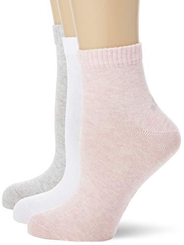 s.Oliver Socks Unisex S21001000 Socken, 3er Pack, Mehrfarbig (rosé melange), 39/42