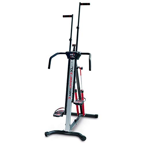 MaxiClimber XL-2000 Hydraulic Resistance Vertical Climber. Combines Muscle Toning + Aerobic Exercise for Maximum Calorie Burn. 12 Resistance Levels, Lightweight Aluminum Mainframe, Free Fitness App. from Inova USA